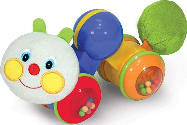 Развивающая игрушка для малышей melissa & doug press and go inchworm