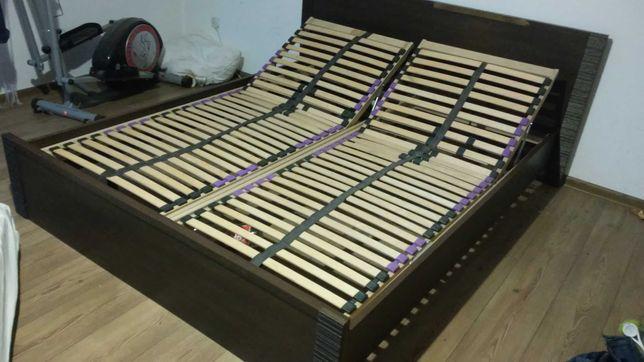 łużko do sypialni 160x200 BRW+stelaż