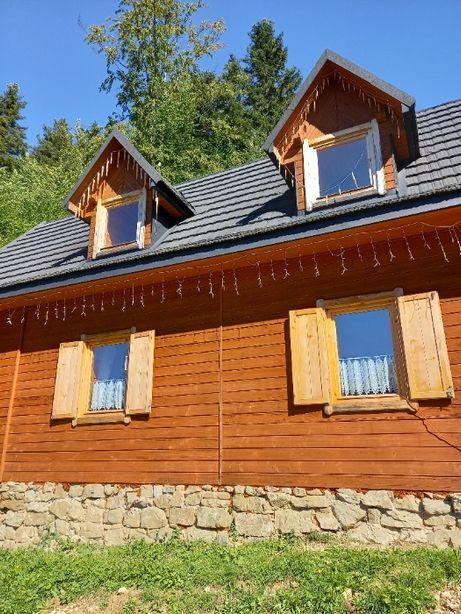 Całoroczny domek góralski w malowniczej miejscowości Piwnicznej-Zdrój