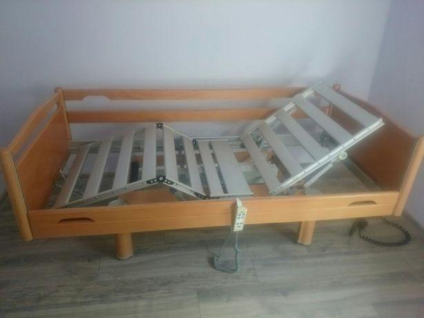 Łóżko rehabilitacyjne pilot komplet z materacem gąbkowym i montaż