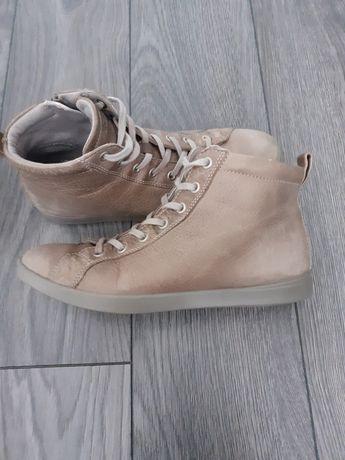 ECCO Soft skórzane buty rozm 38
