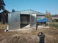 garaże blaszane, garaż 7x6 , dach dwuspadowy, ocynk , hale , profil