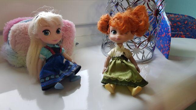 Анна и Эльза, Олаф и эльф, холодное сердце Disney