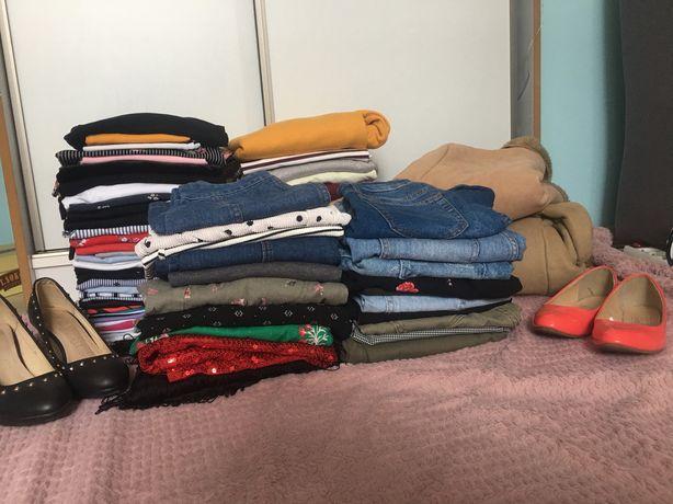 Mega paka ubrań + buty