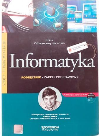Informatyka - podręcznik do liceum/technikum/szkoła średnia OPERON