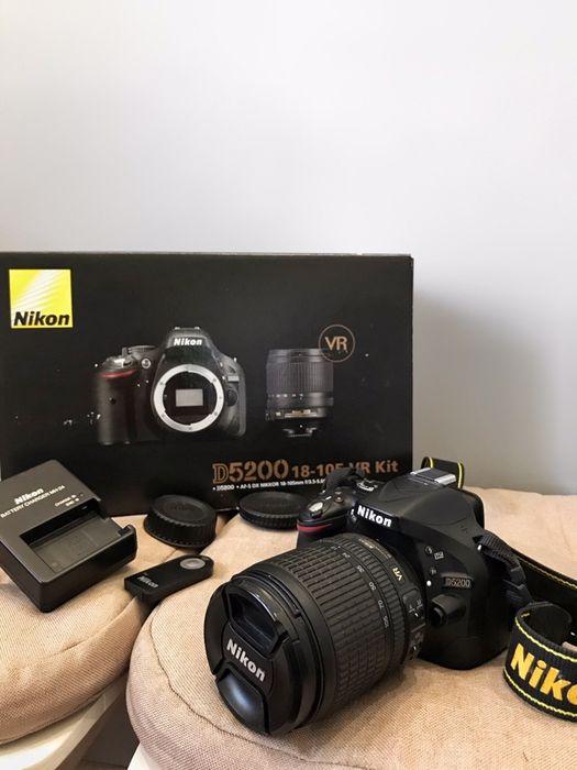 Фотоаппарат Nikon D5200 18-105 vr kit Запорожье - изображение 1