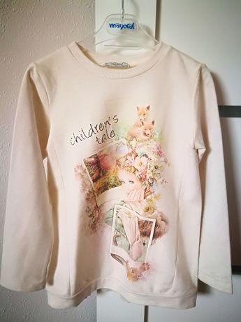 Mayoral bluza dla dziewczynki rozm. 122
