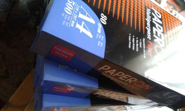 Папір офісний PAPERON А4, 80 г/м, 500 листів у пачці