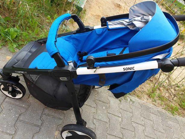 Wózek spacerówka, parasolka SONIC espiro for active life KATOWICE