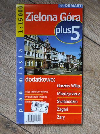 Plan miasta Zielona Góra, Gorzów Wielkopolski