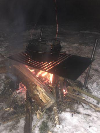 Grill ogniskowy, palenisko, ruszt dożywotni!!!