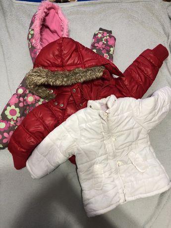 Куртки для дівчинки