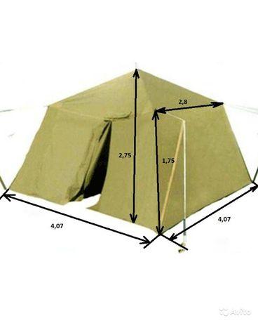 палатка лагерная, солдатская на 10 человек