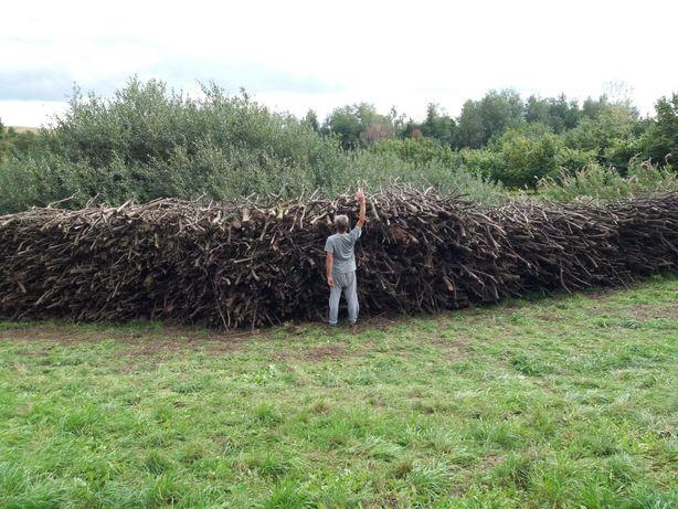 Drewno opałowe - gałęziówka
