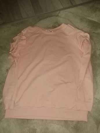 Bluza damska z wycięciami na ramionach