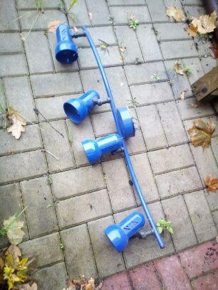 Niebieski żyrandol dziecięcy