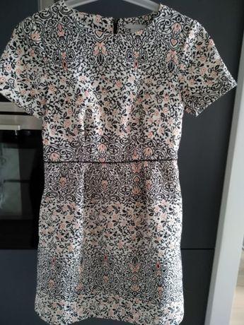 H&M sukienka żakardowa rozmiar 36
