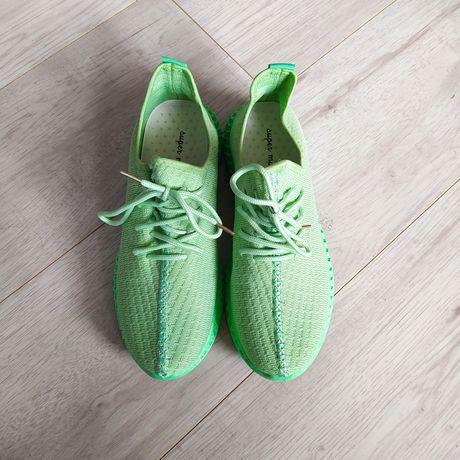 Buty sportowe zielone 39 NOWE