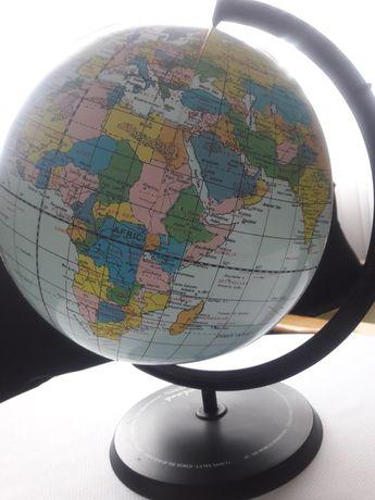 nadmuchiwany globus dla dzieci i kolekcjonera z okresu PRL
