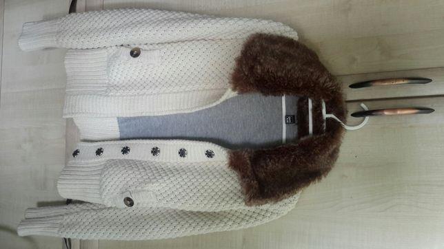 """Pimkie"",вязаная демисезонная куртка,S"