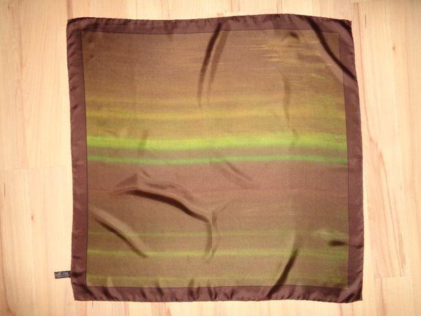 Beckford Silk pure Made in England cieniowana jedwabna chusta apaszka