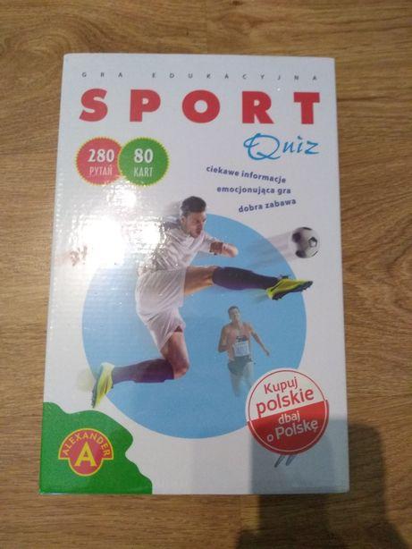 Gra edukacyjna sport quiz