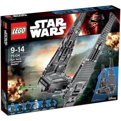 Nave de Combate de Kylo Ren (LEGO Star Wars 75104)