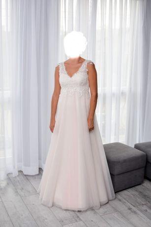 Suknia ślubna rozmiar 38, używana, stan dobry!