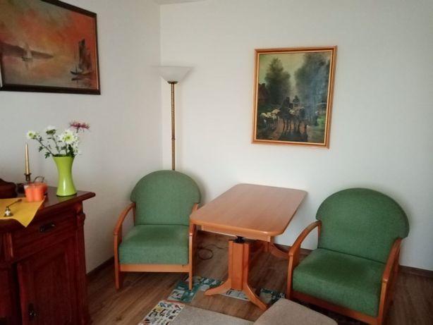 Zestaw wypoczynkowy Meblotap, wersalka, fotele, stół