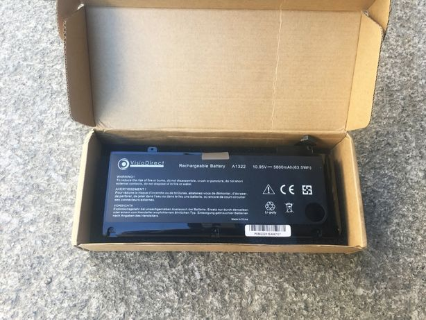 """Bateria para MacBook Pro 13"""" (A1278) - NOVO"""