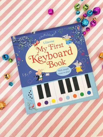 Usborne My First Keyboard ,книга пианино
