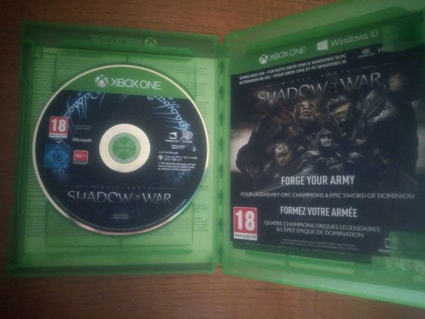 MIddle Earth Shadow of War Xbox