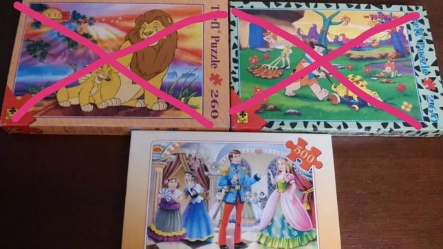 puzzle Księżniczka 500 szt