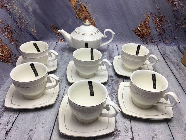 Чайний сервіз / чашки, блюдця та заварник\чайный сервиз