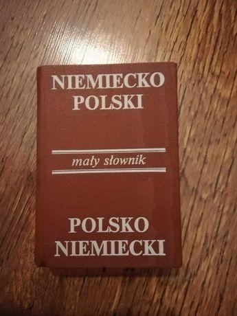 Polsko Niemiecki mały słownik