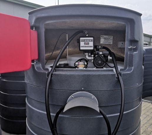 Zbiornik na ON paliwo płynne 1500L