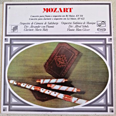 Vinil de Mozart