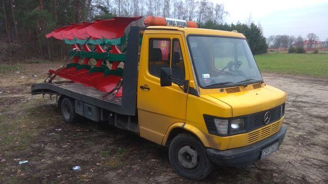 Autolaweta transport maszyn rolniczych POMOC DROGOWA laweta