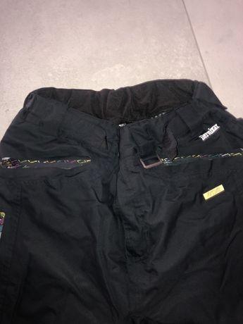 Spodnie L narciarskie snowboard czarne cena skl 1000zl