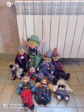 Коллекция керамических клоунов