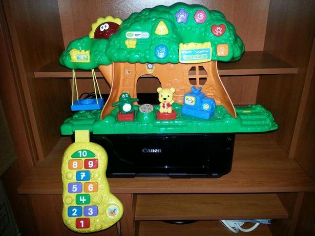 Interaktywny domek drzewko