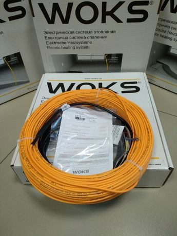 Теплый пол электрический Woks-18 мат Woks-160 + терморегулятор