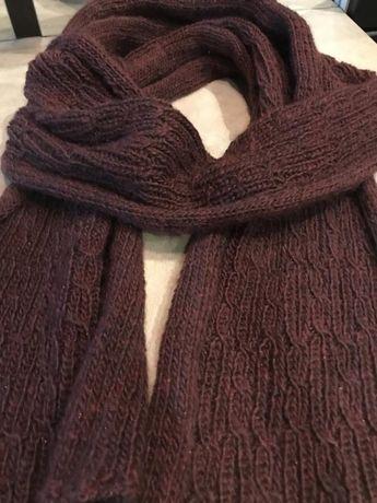 Длинный мягкий шарф