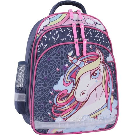 Школьный рюкзак с единорогом 1-4 класс