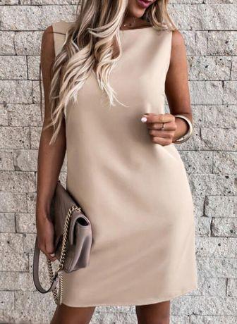 Damska elegancka sukienka rozmiar 40 L Nowa