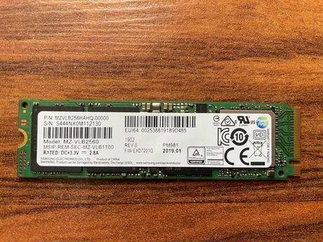 SSD m.2 накопитель 256GB Samsung PM981