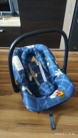 Nosidełko /fotelik do samochodu dla dziecka +śpiworek na nóżki.