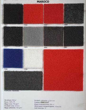 MAROCO - wykładzina nowa targowa misiek /welur 3,6 mm - 1 gatunek