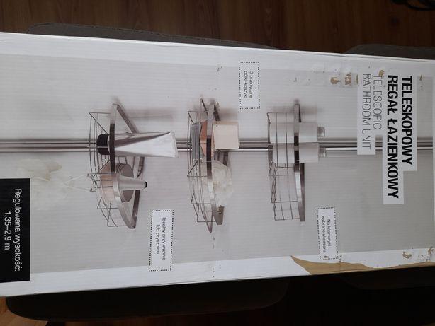Polka teleskopowa lazienkowa