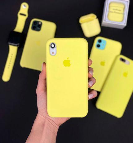 Силиконовый чехол на айфон Iphone XS MAX XR 11 PLUS 5 7 8 pro SE 6 12